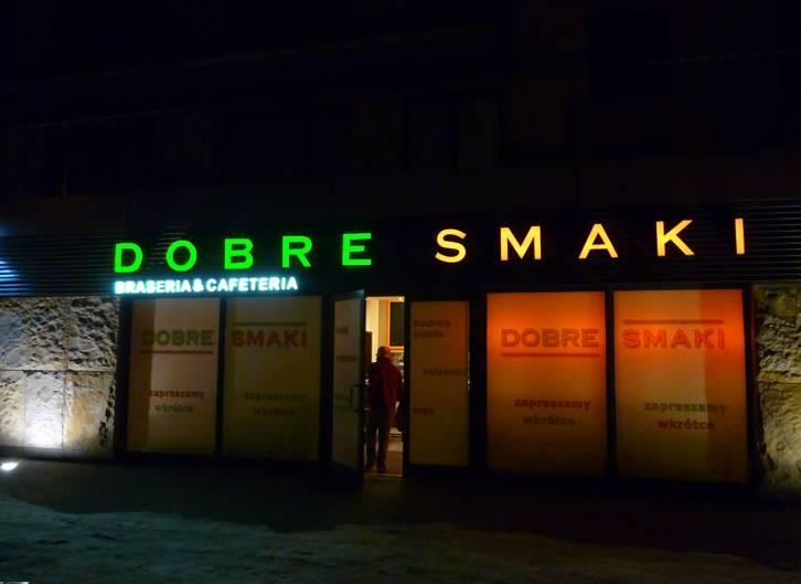 reklamy swietlne litery Warszawa