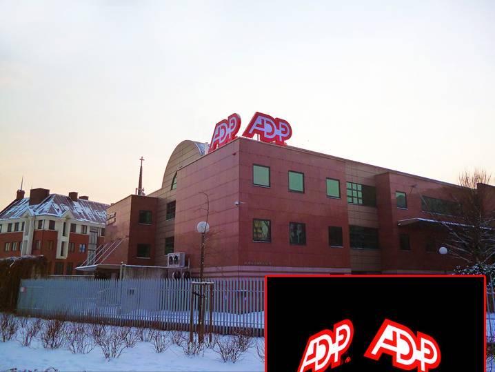 Adp litery podswietlane reklama led