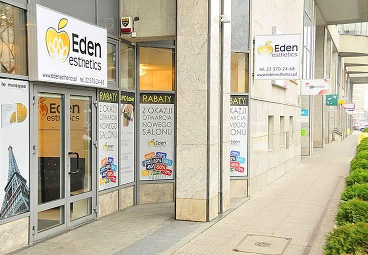 kasetony reklama Eden Esthetics 1