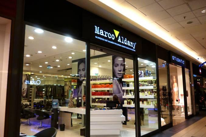 Marco Aldany kasetony Warszawa Blue City