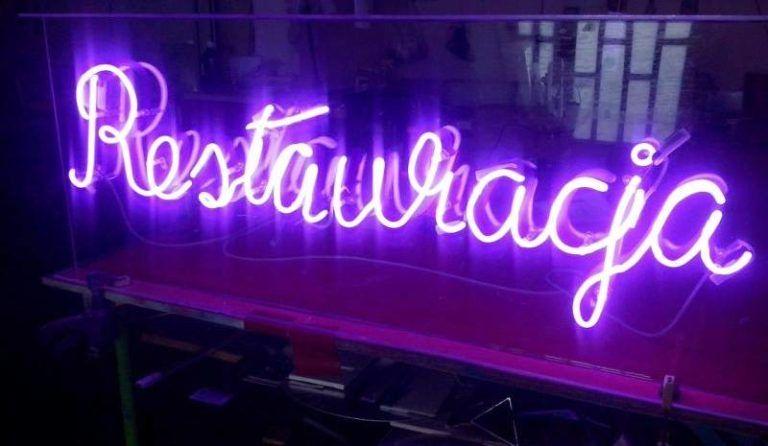 neon restauracja warszawa