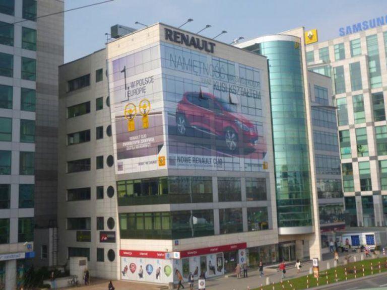 reklamy wielkoformatowe Renault